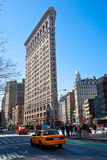 大厦城市平面的铁曼哈顿纽约 免版税库存图片
