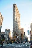 大厦城市平面的铁纽约 库存图片
