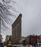 大厦城市平面的铁纽约 库存照片