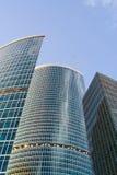 大厦城市莫斯科办公室 免版税库存照片