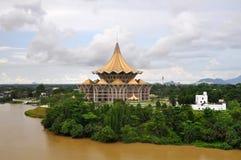 大厦堡垒margherita新的议会 库存照片