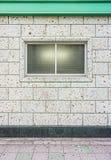 大厦墙壁的外部装饰 免版税库存图片