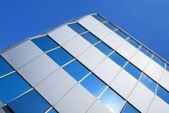 大厦壁角玻璃办公室 免版税库存图片