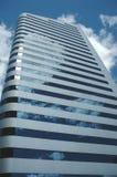 大厦天空 免版税库存图片