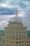大厦屋顶 免版税库存照片