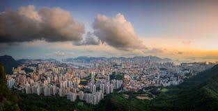 大厦市政厅在香港海岛 库存图片