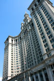 大厦市政的曼哈顿 库存图片
