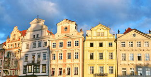 大厦布拉格 免版税图库摄影