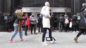 大厦帝国曼哈顿新的状态美国约克 股票视频