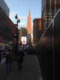大厦帝国曼哈顿新的状态美国约克 免版税库存照片