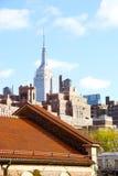 大厦帝国曼哈顿新的状态美国约克 免版税图库摄影