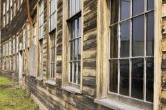 大厦弯曲的表面 图库摄影