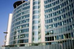 大厦意大利现代办公室 免版税库存图片