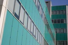 大厦意大利米兰现代新的办公室季度 库存图片