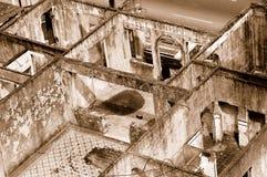 大厦房间破坏了 免版税库存图片