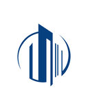 大厦投资3业务保险摘要 免版税库存图片
