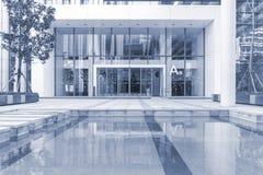 大厦抽象看法  免版税库存图片
