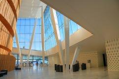 大厦挪威歌剧奥斯陆 免版税库存照片