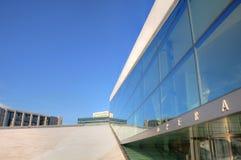 大厦挪威歌剧奥斯陆 图库摄影