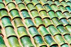 大厦摩洛哥屋顶 库存图片