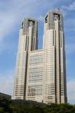 大厦政府城市居民东京 免版税库存照片