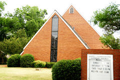 大厦教会 免版税库存照片