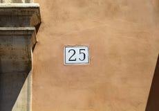 大厦数字& x28看法; 25& x29; 图库摄影