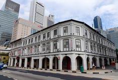 大厦新加坡 图库摄影