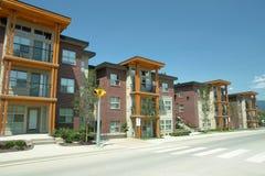 大厦新的住宅大学 免版税库存照片