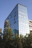 大厦智利de现代圣地亚哥 免版税库存图片
