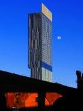 大厦曼彻斯特现代英国 免版税库存照片