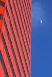 大厦月亮办公室 图库摄影