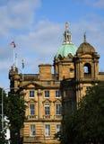 大厦有历史的爱丁堡 库存照片