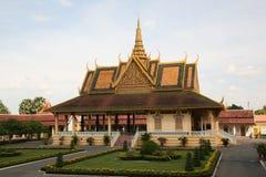 大厦柬埔寨寺庙 免版税库存图片