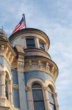 大厦样式维多利亚女王时代的著名人物 免版税库存图片