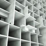 大厦概念结构 免版税库存照片