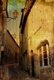 大厦欧洲被塑造的老 库存照片