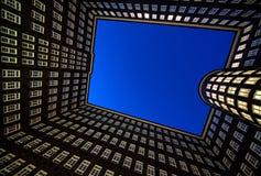 大厦汉堡办公室 库存照片