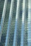 大厦特写镜头玻璃 免版税库存照片