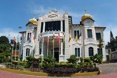 大厦独立纪念品宣布 免版税图库摄影