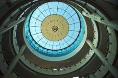 大厦现代玻璃屋顶  库存照片