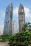 大厦现代的广州 库存图片