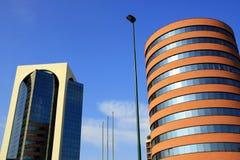 大厦现代的米兰 免版税库存照片