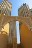 大厦现代的迪拜 库存照片