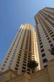 大厦现代的迪拜 免版税图库摄影