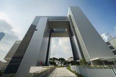 大厦现代的香港 库存图片