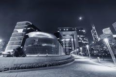 大厦现代的香港 免版税库存照片