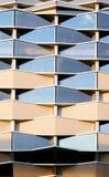 大厦现代详细资料的图象 免版税库存图片