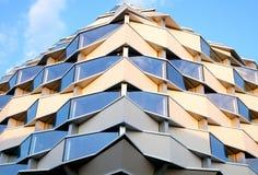 大厦现代详细资料的图象 图库摄影