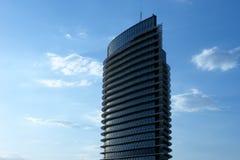 大厦现代详细资料的图象 免版税库存照片